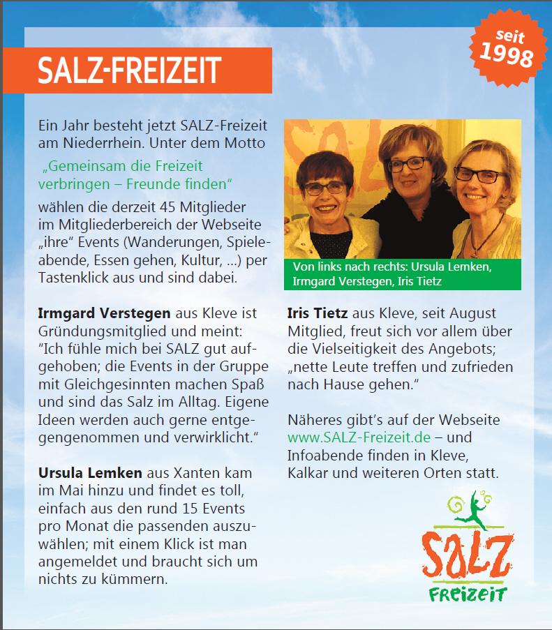 SALZ-Freizeit Treff Bewertung SALZ-Freizeit Artikel