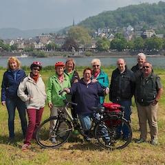 Radtour am Rhein SALZ-Freizeit